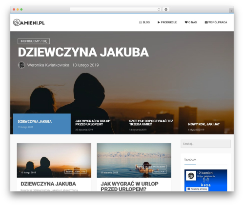 WP theme LiteMag by Bluthemes - 12kamieni.pl