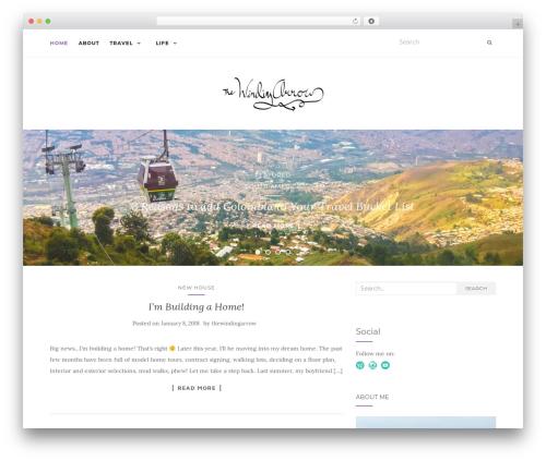 Activello best free WordPress theme - thewindingarrow.com