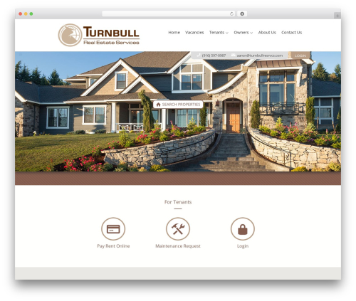 AppFolio MVP Theme WordPress real estate - turnbullrealestateservices.com