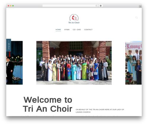 Chester WordPress theme - trianchoir.com