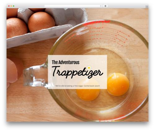Cookd Pro Theme WordPress restaurant theme - trappetizer.com