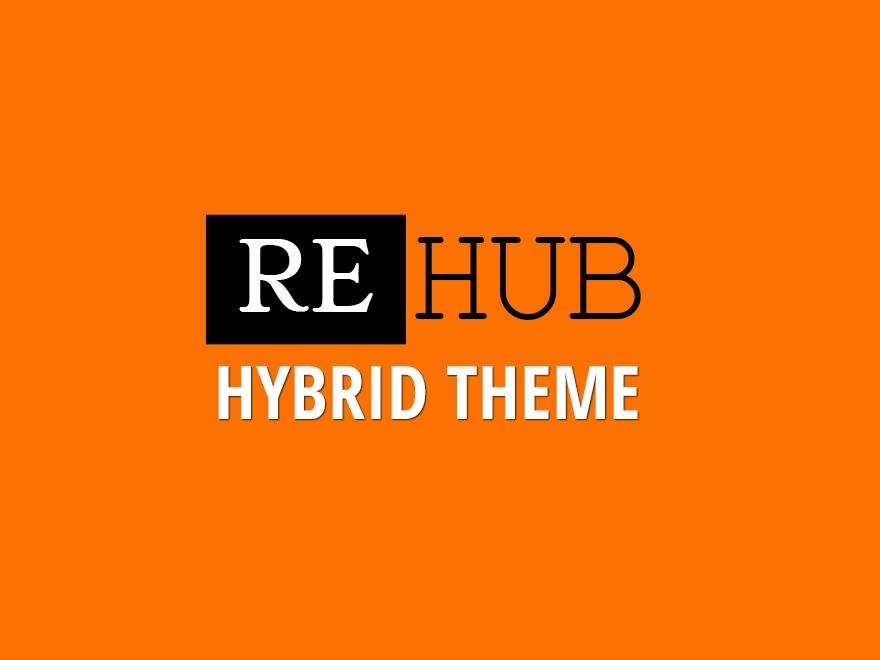 Custom Rehub theme v1.0 newspaper WordPress theme