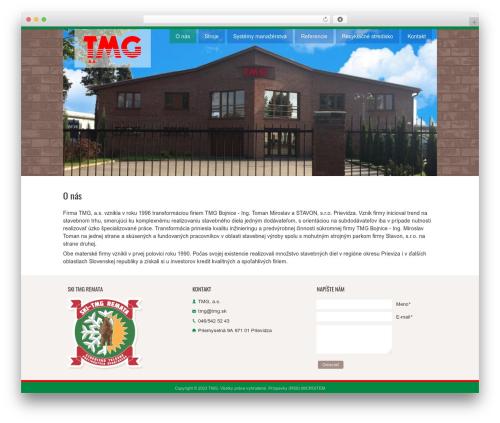 Dottoro top WordPress theme - tmg.sk