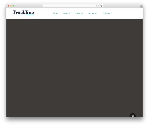 Fusion WordPress theme design - trackline.es