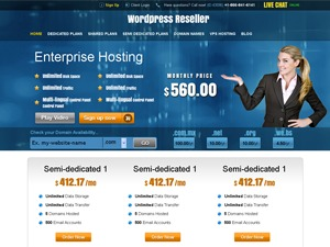 Optimum Hosting premium WordPress theme