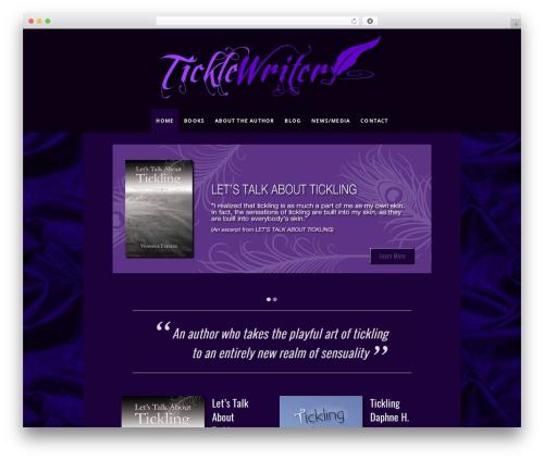 Osmosis WordPress theme - ticklewriter.com
