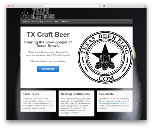 Responsive WordPress free download - texasbeerblog.com