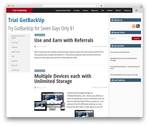 SmartAdapt WordPress theme free download - trialgotbackup.com