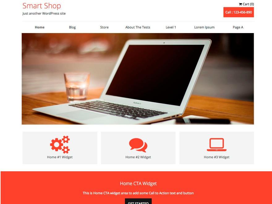 SmartShop Tastad WordPress shopping theme