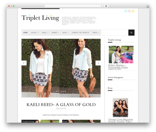 StyleMag fashion WordPress theme - tripletliving.com