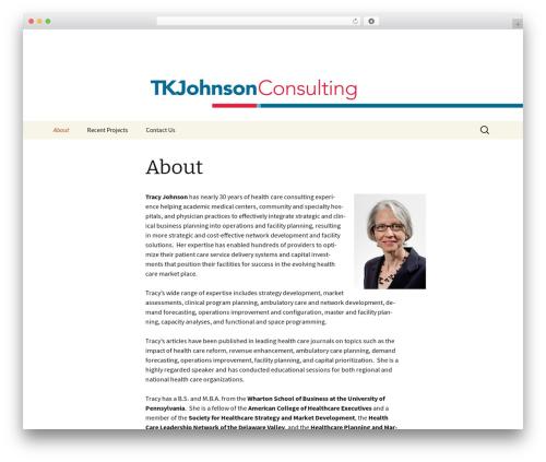 Twenty Thirteen WordPress free download - tkjohnsonconsulting.com
