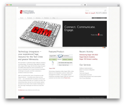 WP theme Agivee - technology-integrators.com