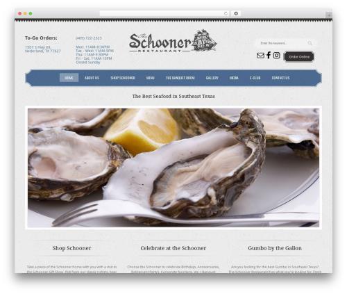 WP theme Klasik - theschoonerrestaurant.com