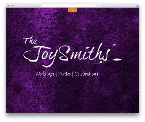 WP theme Themify Fullpane - thejoysmiths.com