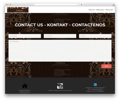Zerif Lite template WordPress free - tomyca.com