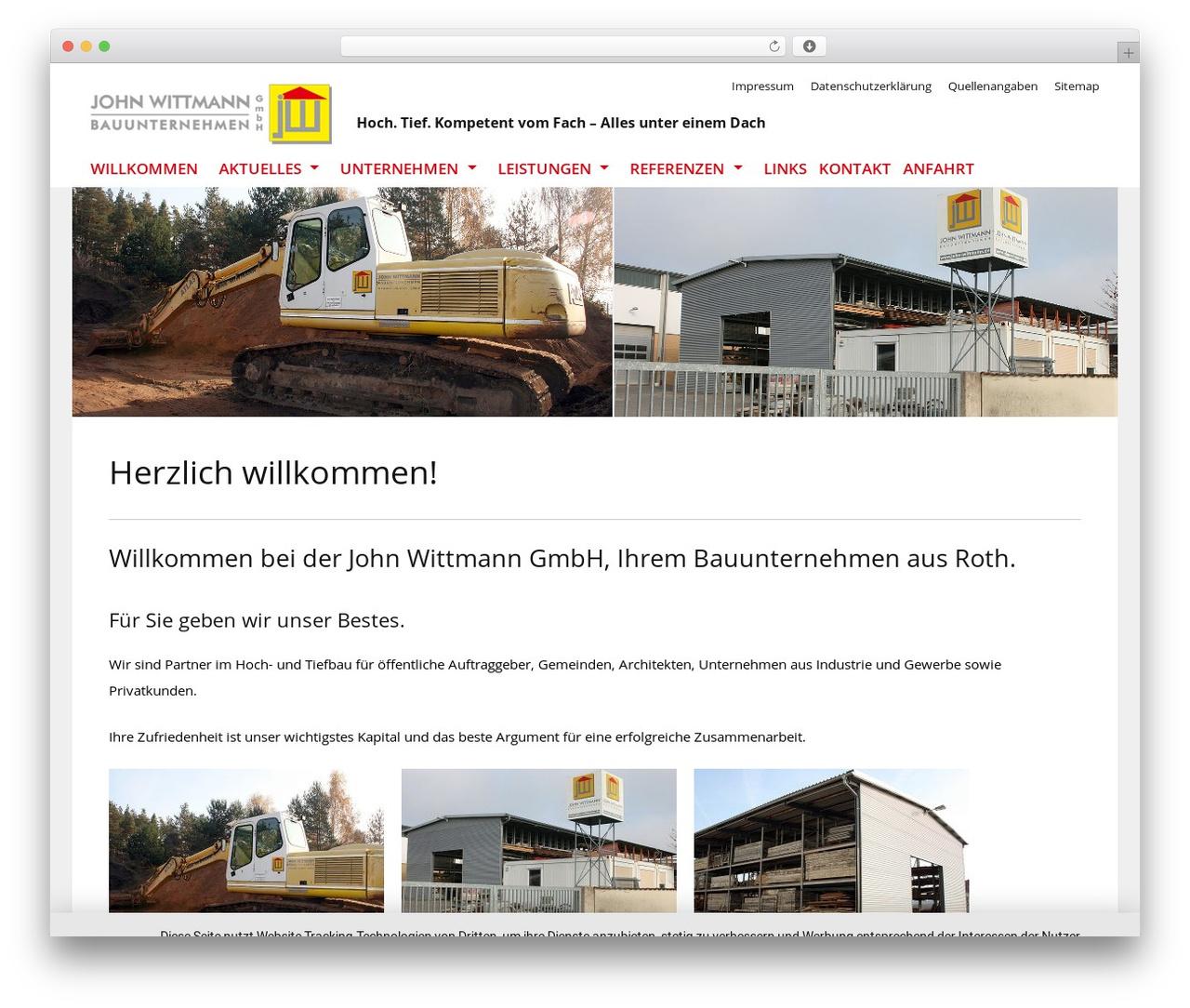 Best WordPress theme Telescope - john-wittmann.de