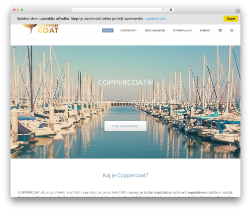 Conica best free WordPress theme - coppercoat.net