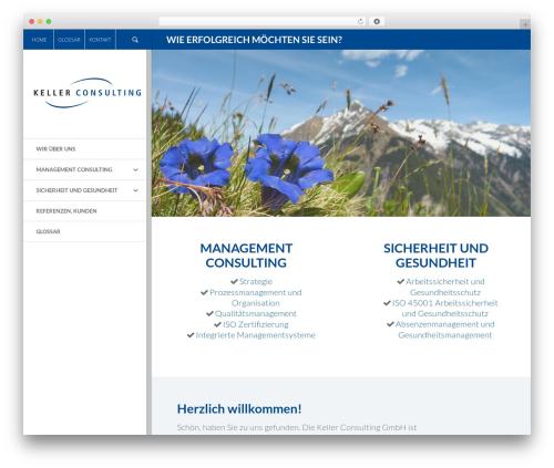 Elite WordPress theme - kellerconsulting.ch