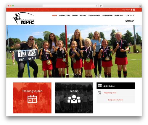 Fitnes, Sport, Gym fitness WordPress theme - kvbmc.nl