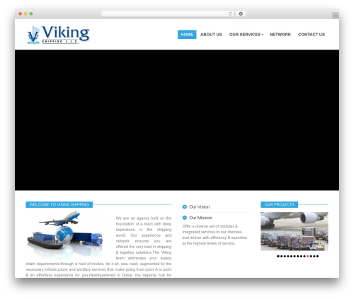 PressCore theme WordPress - vikingshipping.net