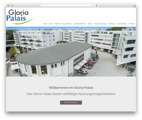 WordPress theme AccessPress Staple Pro - gloria-palais.de