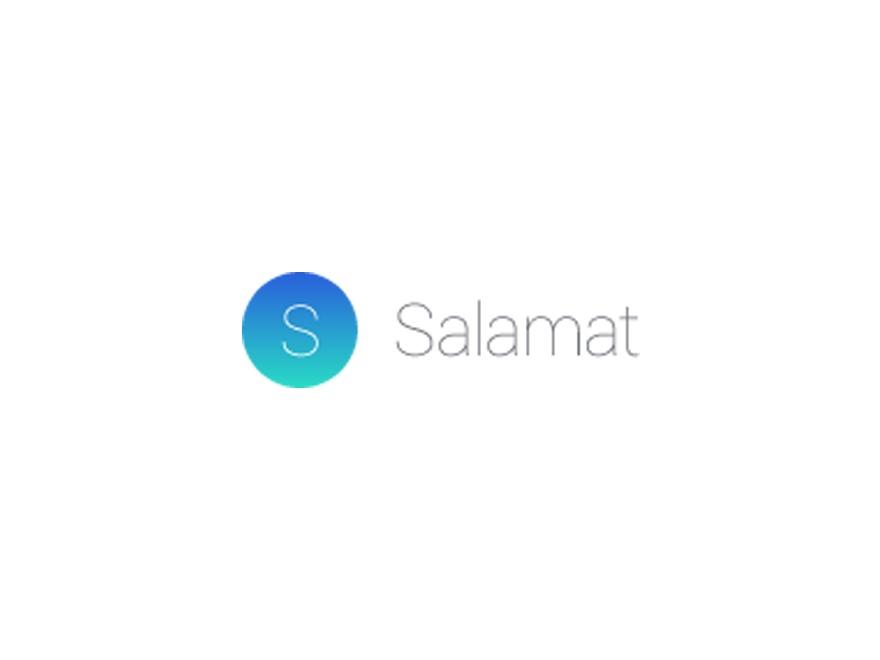 WordPress website template Salamat