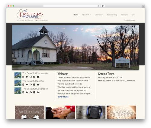 Best WordPress theme Dynamik-Gen - pottershouseofholland.org
