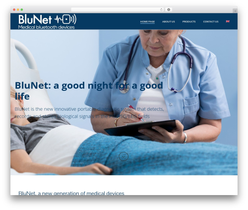 Jupiter medical WordPress theme - blunet.cloud