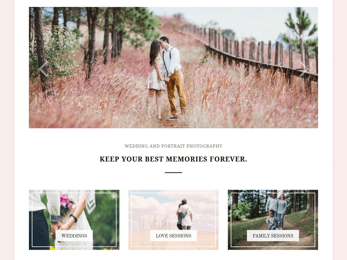Photozoom personal WordPress theme