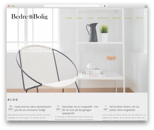 Swiftbiz Lite free WP theme - bedre-bolig.dk
