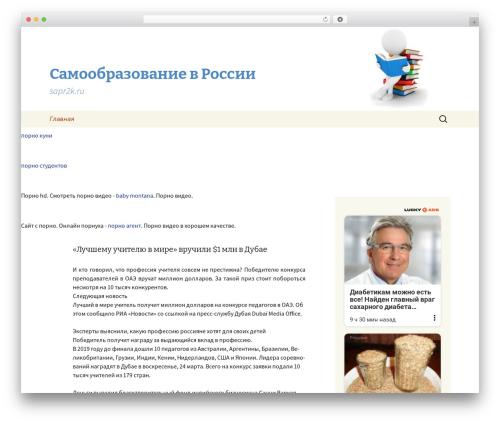 Template WordPress Twenty Thirteen - sapr2k.ru