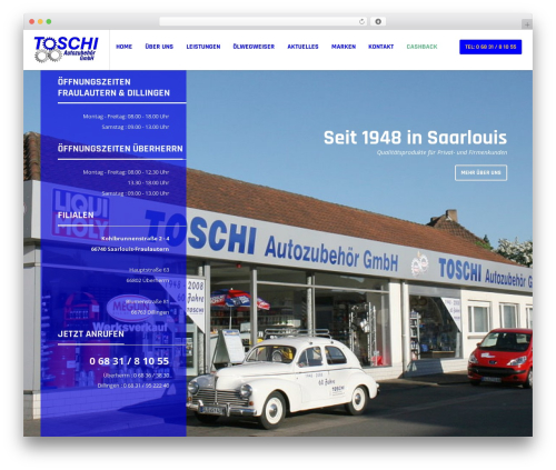 Theme WordPress Bengkel - toschi-gmbh.de