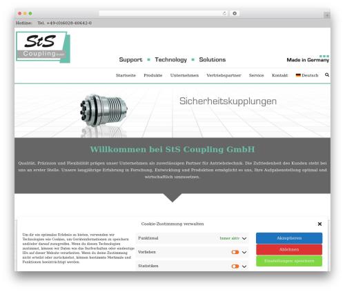 Best WordPress template AccessPress Staple Pro - stscoupling.de
