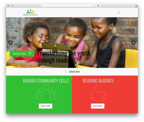 Betheme WordPress theme - balangfoundation.org