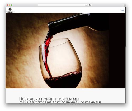 WordPress template Betheme - avrora21region.ru