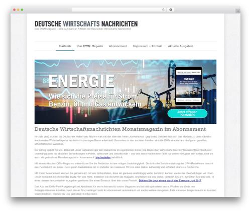 WordPress theme Quare - deutsche-wirtschafts-nachrichten-magazin.de