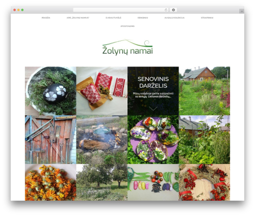 WP theme Healthy Farm - zolynunamai.lt