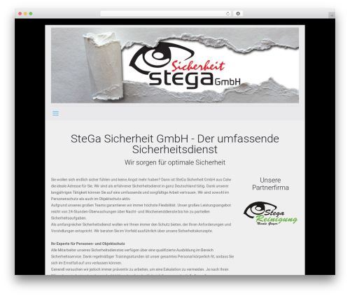 Betheme WordPress theme - stega.tv