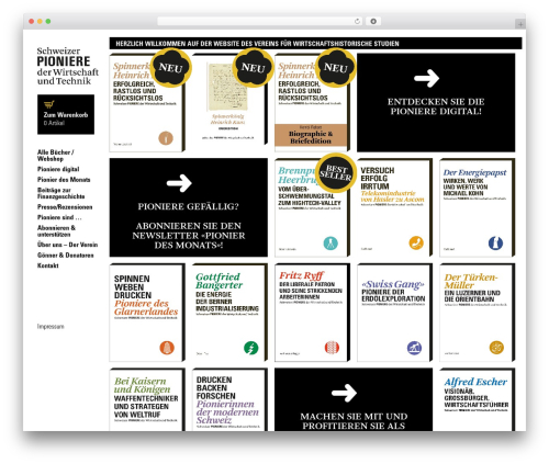 WordPress woocommerce_postfinancecw plugin - pioniere.ch