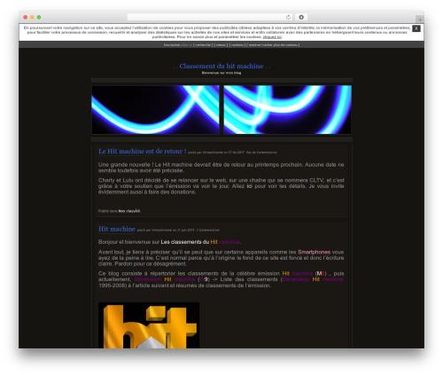 Citrus WordPress blog template - hitmachinem6.unblog.fr