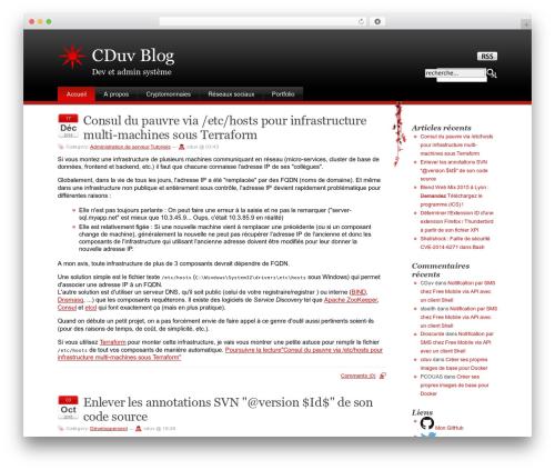 Stardust WP template - blog.claude.duvergier.fr