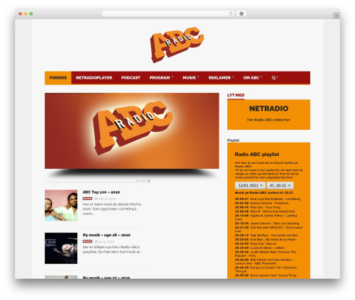Template WordPress Goliath - radioabc.dk