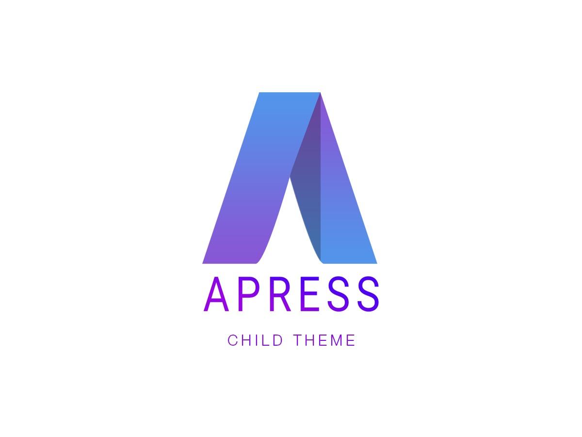 Apress Child WordPress theme
