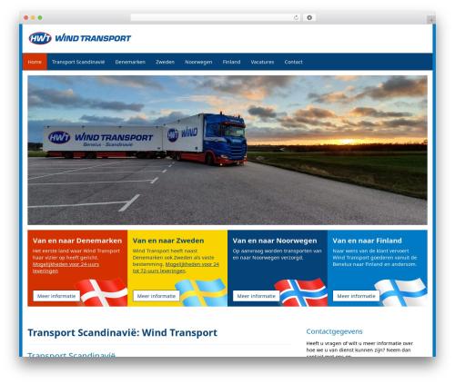 Aquila template WordPress - windtransport.nl