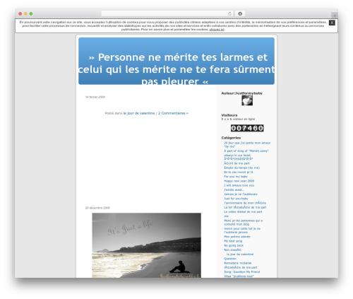 Best WordPress template Thème par défaut - justformybaby.unblog.fr