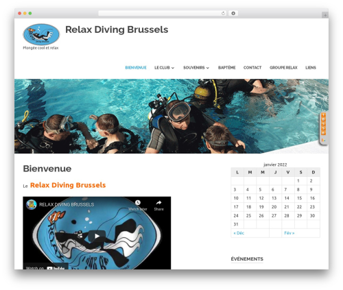 Poseidon WordPress theme free download - relax-diving-brussels.be