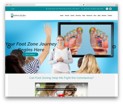 The7 template WordPress - wellnesslifezone.com
