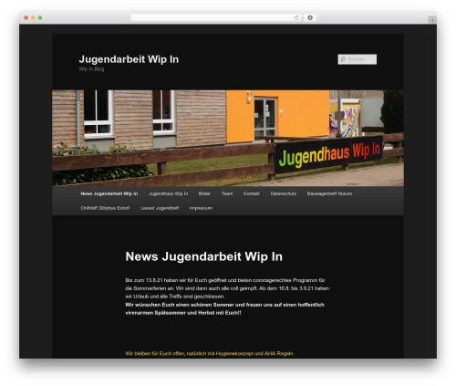 Twenty Eleven WordPress theme free download - wipin.de