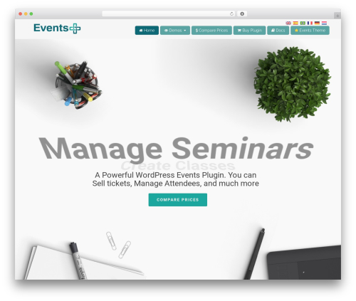 WP Champion WordPress theme - wpeventsplus.com