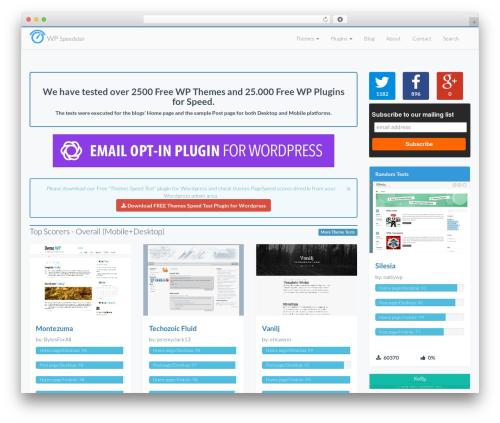 Best WordPress template LaunchPad - wpspeedster.com